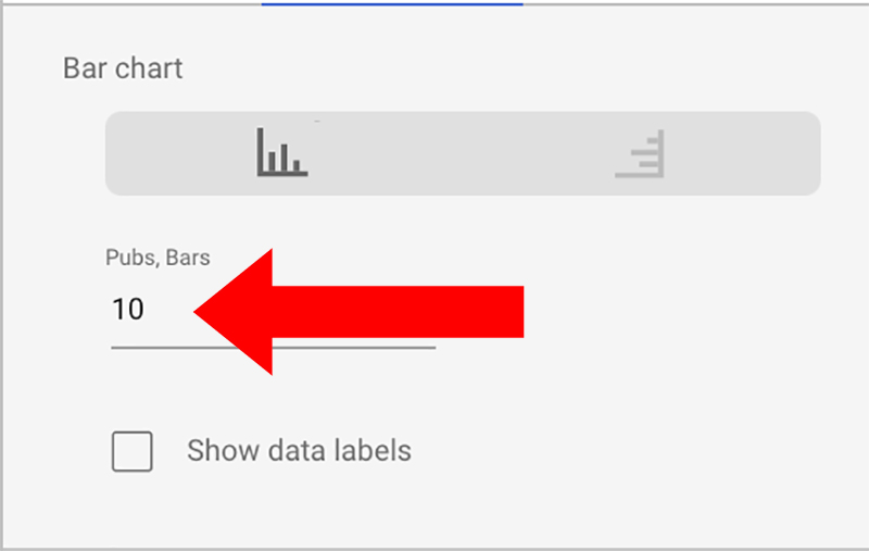 Too few bars